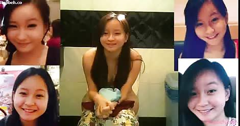 pacute si ganda sa webcam