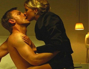 Sienna Miller and James Bond in Layer Cake 2004