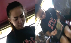 Pinay epic girl boso sa jeep